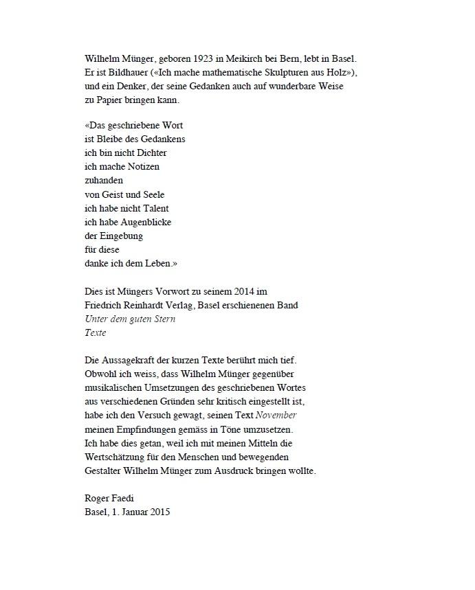 November, op. 48, für Altstimme, Viola und Violoncello